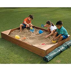 sand box garden - Sandbox Design Ideas